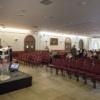 conférence dans la salle serre château d Apigné Hotel de luxe restaurant gastronomique