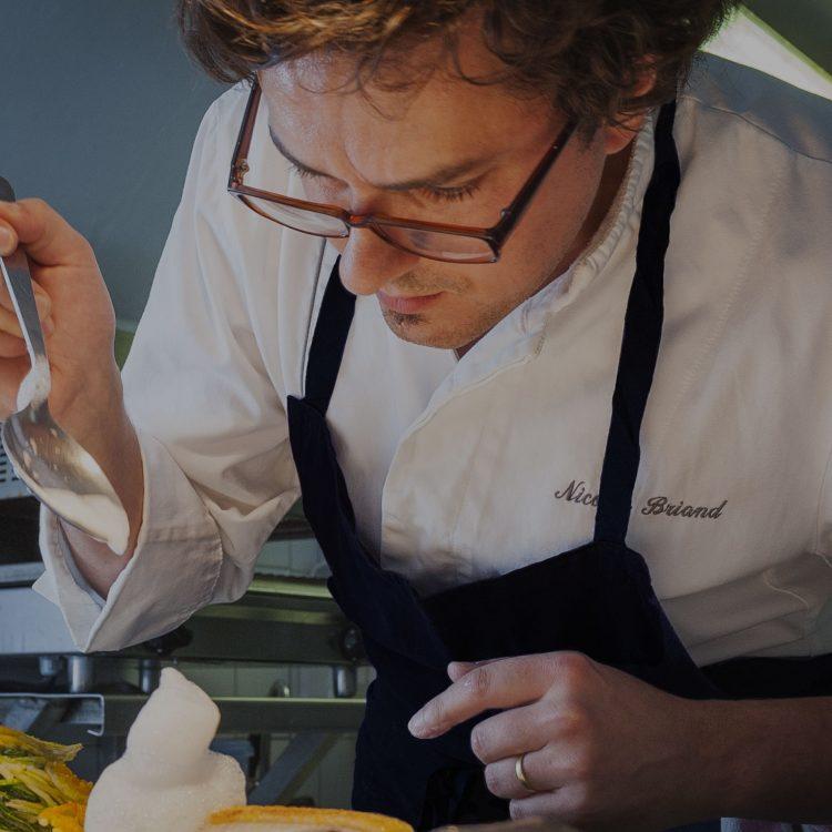 Le chef Nicolas Briand