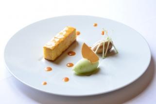 Dessert Pomme caramel