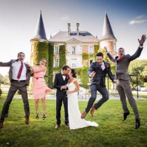 Prises de vue mariés au Château d Apigné près de Rennes