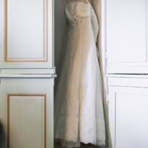 Robe de mariée Château d Apigné près de Rennes