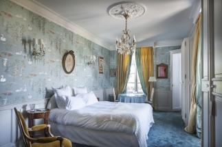 chateau d'Apigné Pauline hôtel de charme et romantique en Bretagne Charles