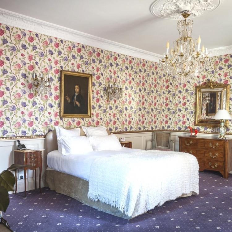 chateau d'Apigné Pauline hôtel de charme et romantique en Bretagne