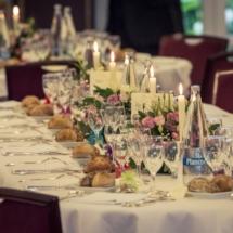 Table d honneur mariage Château d Apigné près de Rennes