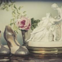 Chaussures de mariée Château d Apigné près de Rennes