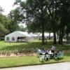 Chapiteau dans le parc du château d Apigné Hotel de luxe restaurant gastronomique