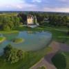 Vue aérienne château d Apigné Hotel de luxe restaurant gastronomique Bretagne