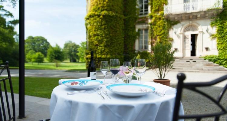 Terrasse Restaurant gastronomique Les Tourelles