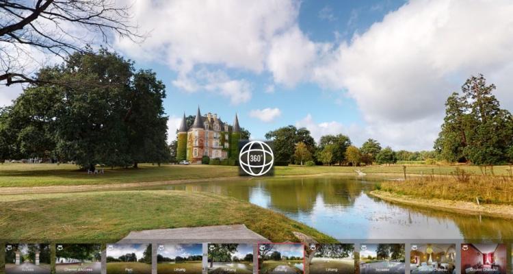 Visite 3D Château d'Apigné