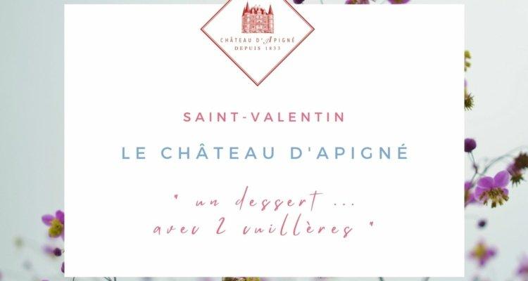 Saint-Valentin Rennes Hôtel Château d'Apigné